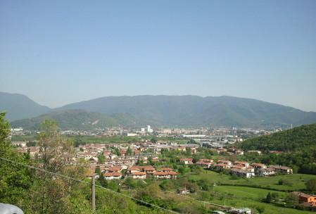 Brescia dal Colle dei Campiani